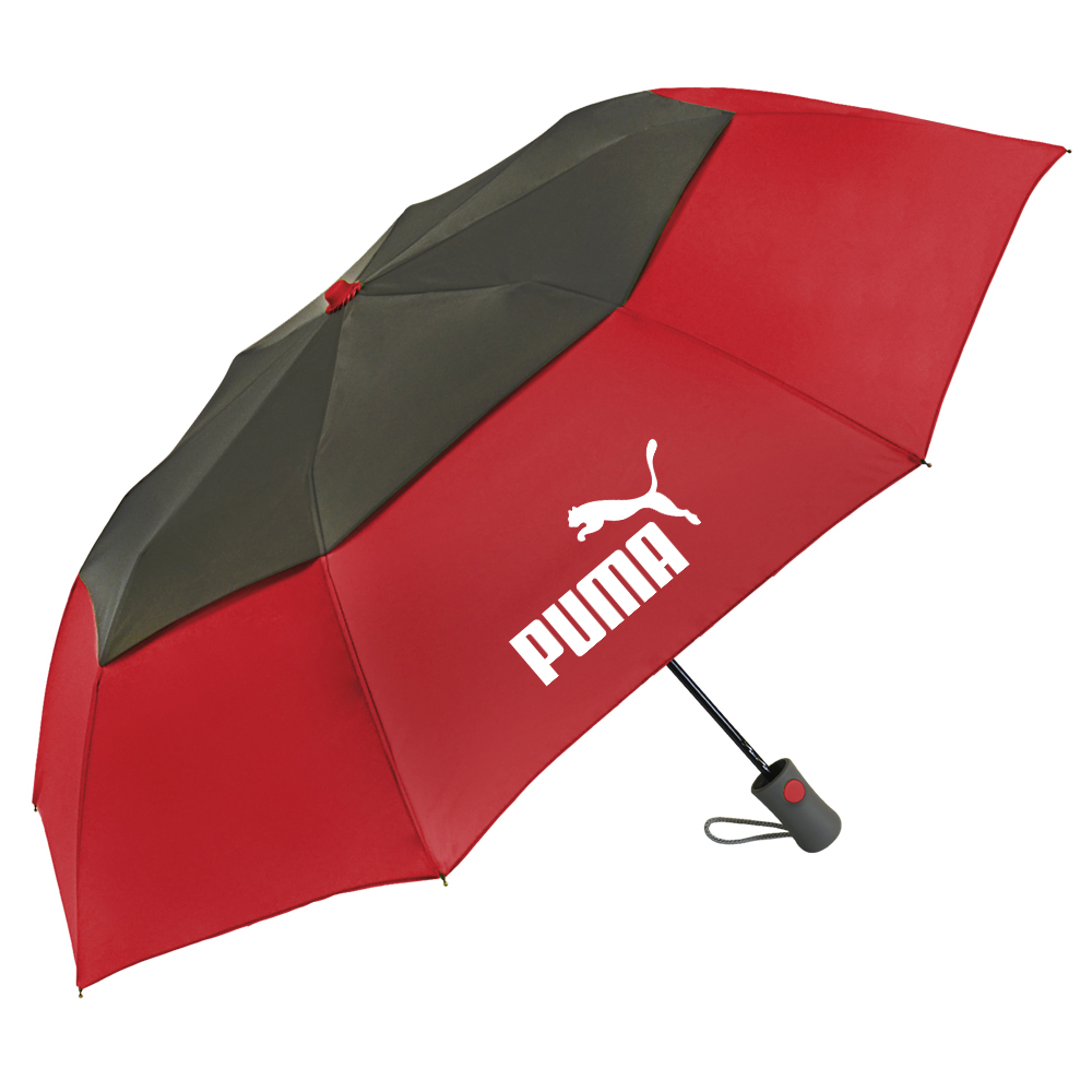 The Vented Graphite Crown Umbrella