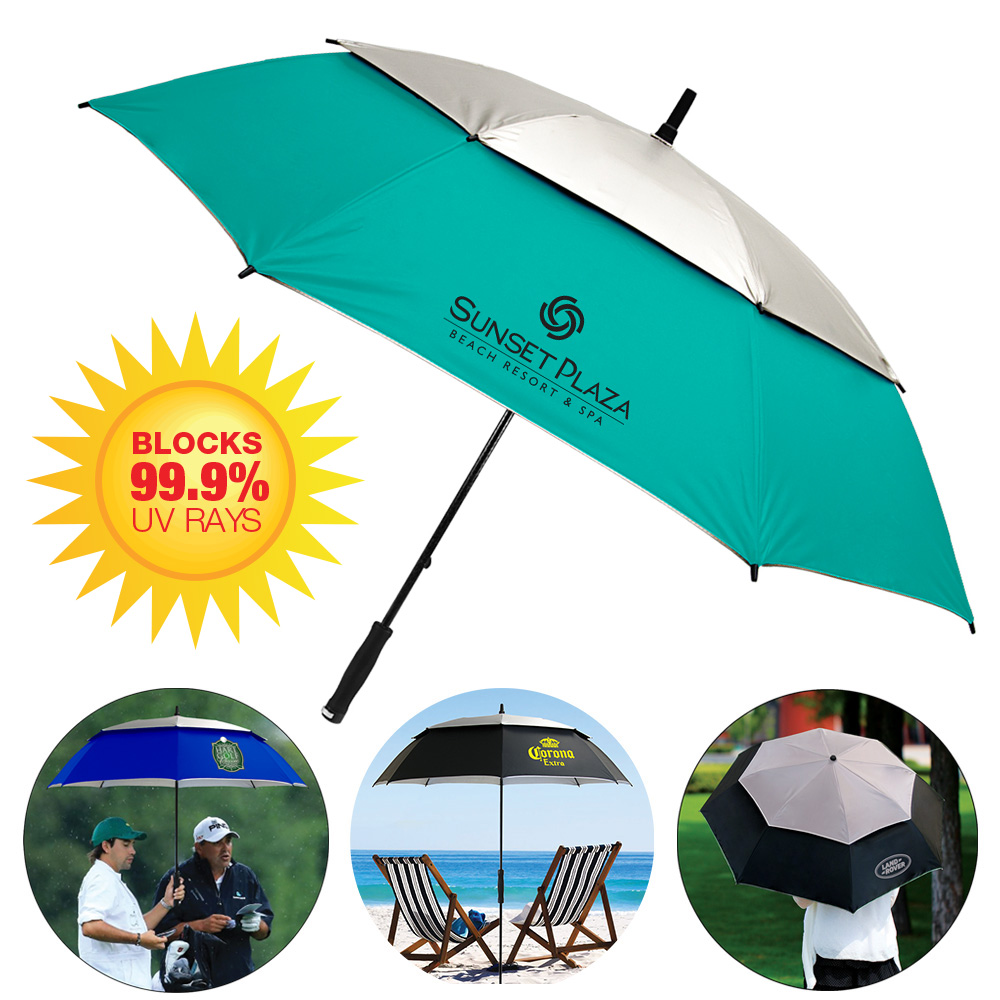 The Vented UV Golf/Beach Umbrella