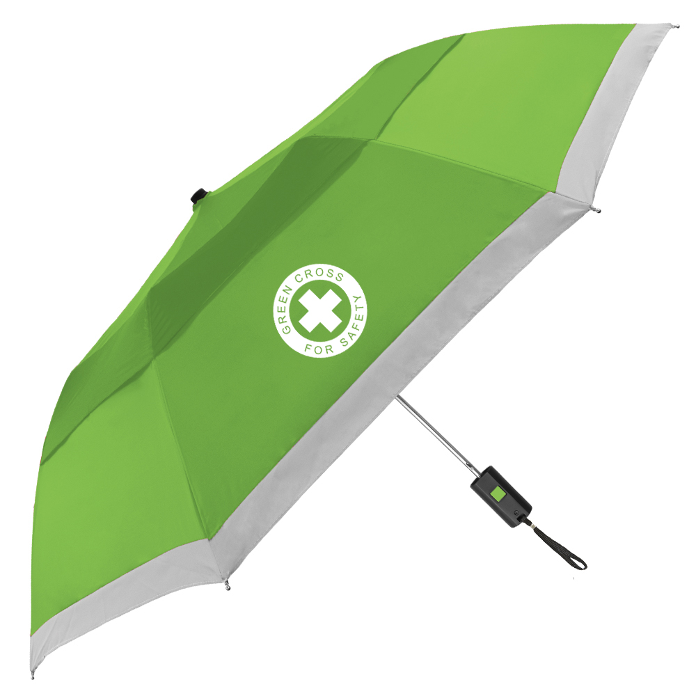 The Vented Lifesaver Folding Umbrella