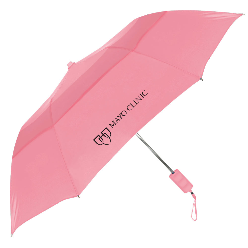 The Pink Vented Windproof Umbrella