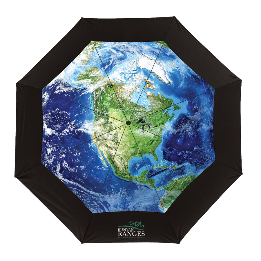 The Vented Earth Umbrella