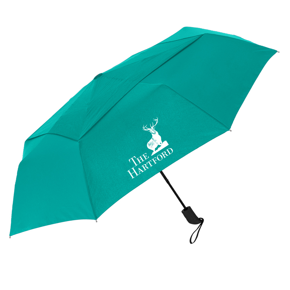 The Vented Cosmopolitan Folding Umbrella