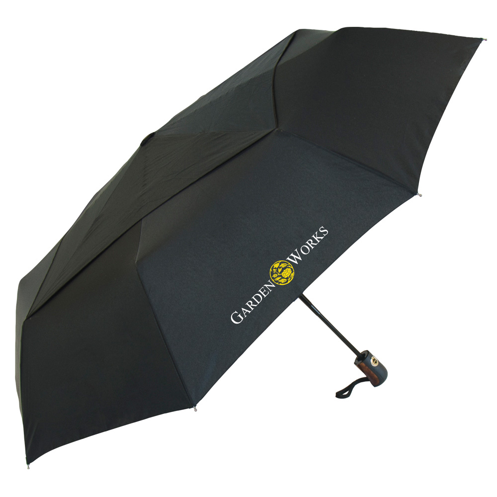 The Black Vented Director Umbrella