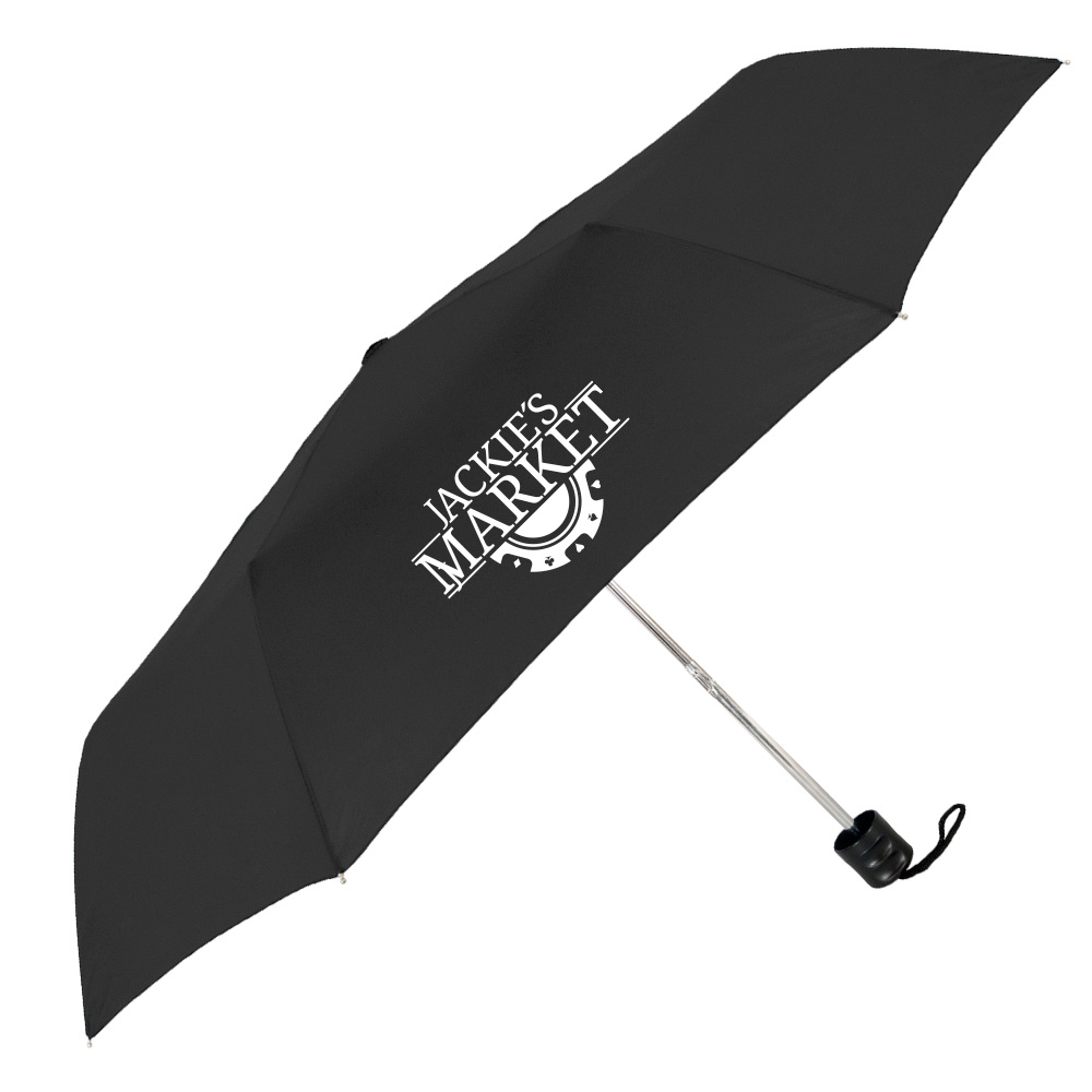 The Black Compact Econo Umbrella