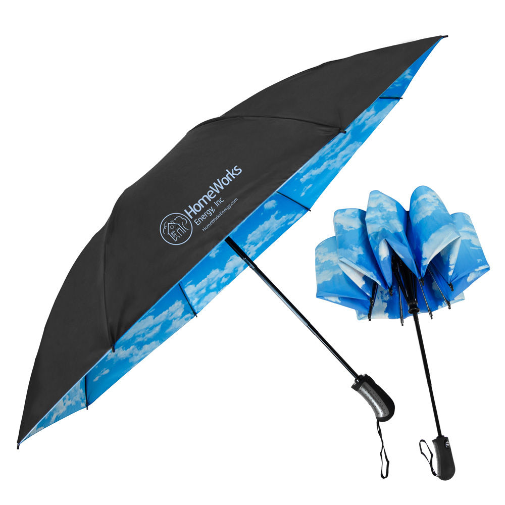 The SkyView Inverted Folding Umbrella